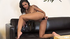 Anal loving Skin Diamond gets involved in the perfect perversion