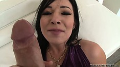 Teen bitch gets real freaky and playful with a cock in a POV porno