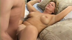 Amateur Mature Bitch Finally Gets Her Wish To Be Fucked By Two Dudes