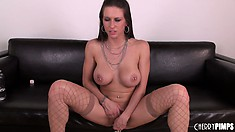 Rachel Roxxx is a marvelous brunette with a perfect body and wild desires to fulfill