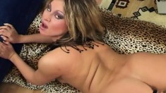 Bodacious Romana uses her new sex toys to drive her snatch to pleasure