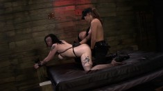 Wild Girl With A Sublime Ass Is Introduced To The Pleasures Of Bondage