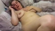 Fat Hairy Amateur Milf Grinding A Cock