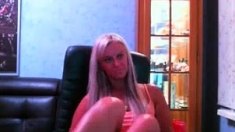 Romanian Amateur Blonde From Galati Romania Striptease