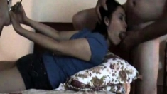 Nyla Thai And Luci Thai Awesome Asian 3 Some