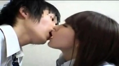 Cute amateur asian teen blowjob