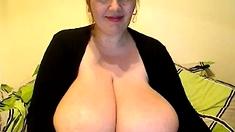 Big saggy boobs girl anal dildo webcam Big Boobs