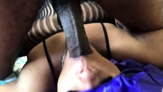 Amateur blondes pov blowjob and hardcore fun with lucky dude