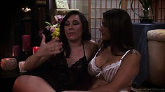 Sinn Sage is hot for box as these two start kissing and groping